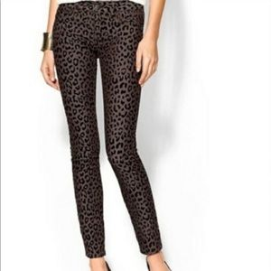 Free People   leopard jeans